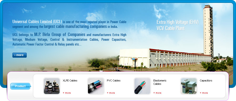 Universal Cable India | Cable Manufacturer & Exporter |Power